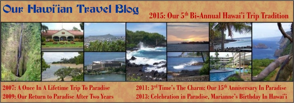 Our Hawai'ian Travel Blog