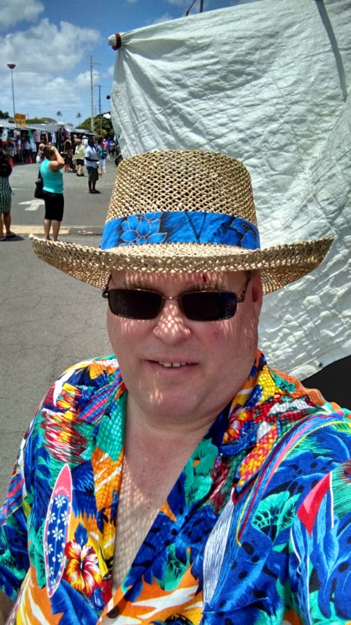 My Traditional Hawaii Hat Purchase